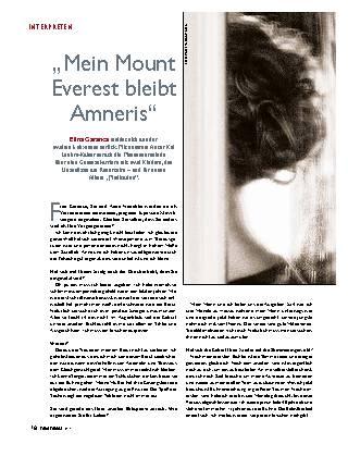 """""""Mein Mount Everest bleibt Amneris"""""""
