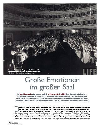 Große Emotionen im großen Saal