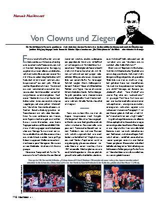Von Clowns und Ziegen