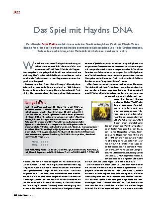 Das Spiel mit Haydns DNA