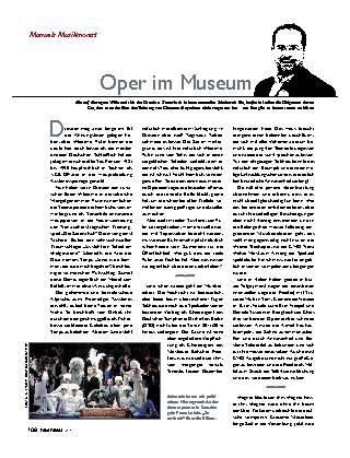 Oper im Museum