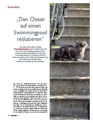 """""""Den Ozean auf einen Swimmingpool reduzieren"""""""
