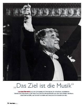 """""""Das Ziel ist die Musik"""""""
