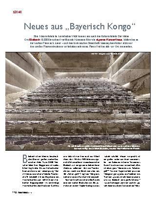 """Neues aus """"Bayerisch Kongo"""""""