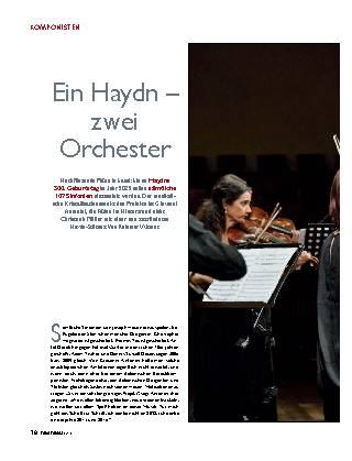 Ein Haydn - zwei Orchester