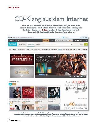 CD-Klang aus dem Internet