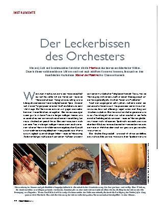 Der Leckerbissen des Orchesters