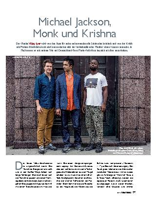 Michael Jackson, Monk und Krishna