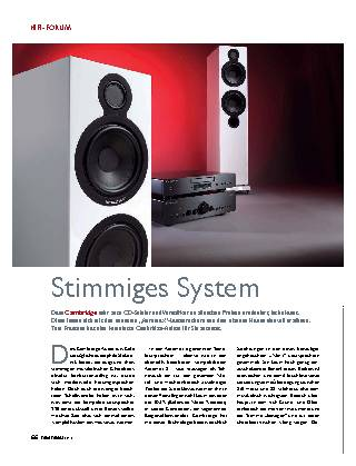 Stimmiges System