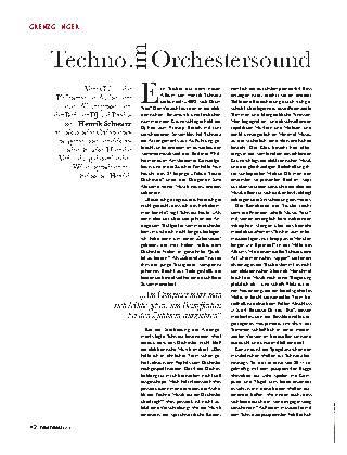 Techno im Orchestersound