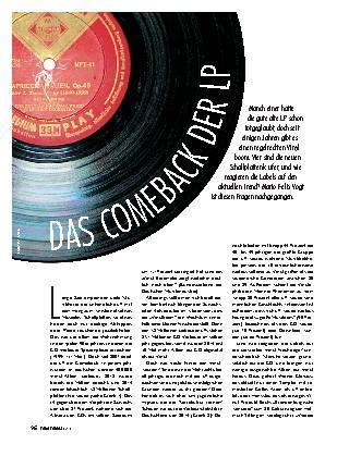 Das Comeback der LP