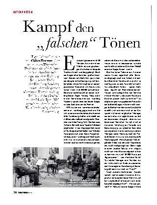 """Kampf den """"falschen"""" Tönen"""