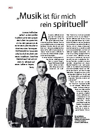 """""""Musik ist für mich rein spirituell"""""""
