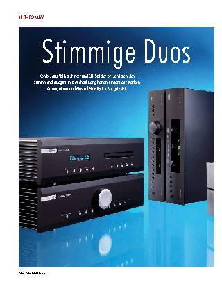 Stimmige Duos