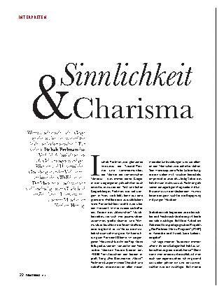 Sinnlichkeit & Charisma