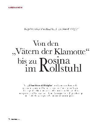"""Von den """"Vätern der Klamotte"""" bis zu Rosina im Rollstuhl"""