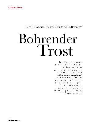 Bohrender Trost