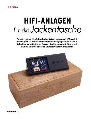HIFI-ANLAGEN für die Jackentasche