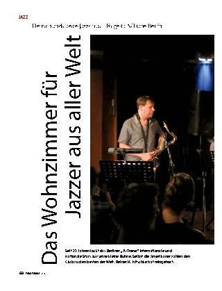 Das Wohnzimmer für Jazzer aus aller Welt