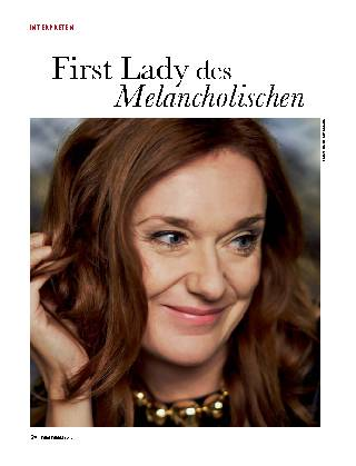 First Lady des Melancholischen