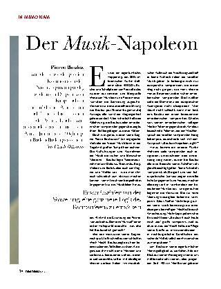 Der Musik-Napoleon