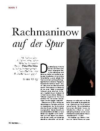 Rachmaninow auf der Spur