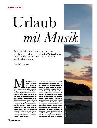 Urlaub mit Musik