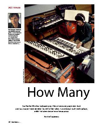 How Many Rhodes…