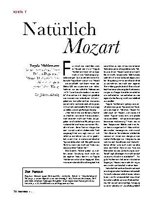 Natürlich Mozart
