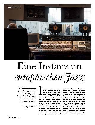 Eine Instanz im europäischen Jazz