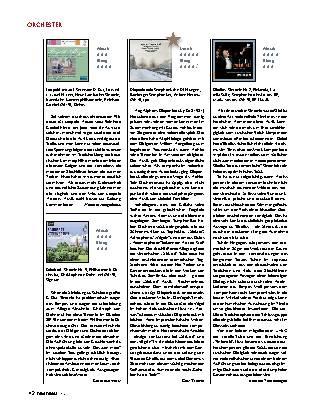 Orchester, Neue Musik , CD-Boxen