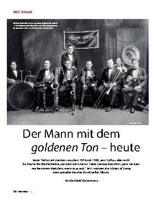 Der Mann mit dem goldenen Ton – heute