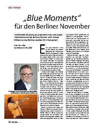 """""""Blue Moments"""" für den Berliner November"""