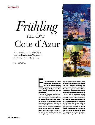Frühling an der Cote d'Azur