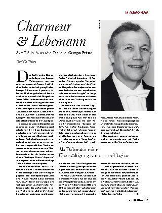 Charmeur & Lebemann