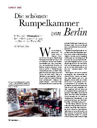 Die schönste Rumpelkammer von Berlin
