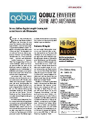 QOBUZ ERWEITERT  SEINE ABO-AUSWAHL