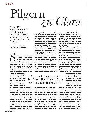 Pilgern zu Clara
