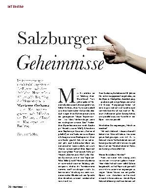 Salzburger Geheimnisse