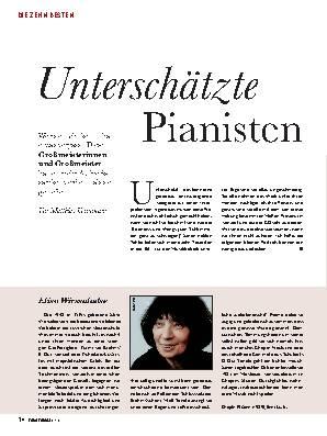 Unterschätzte Pianisten