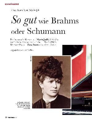 So gut wie Brahms oder Schumann