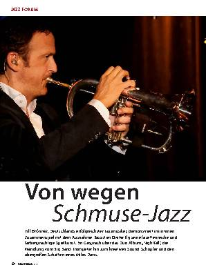Von wegen Schmuse-Jazz