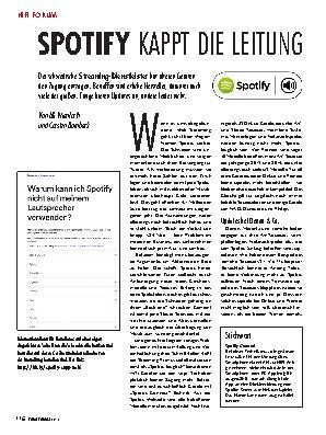 Spotify kappt die Leitung