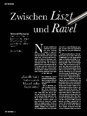 Zwischen Liszt und Ravel