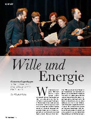 Wille und Energie