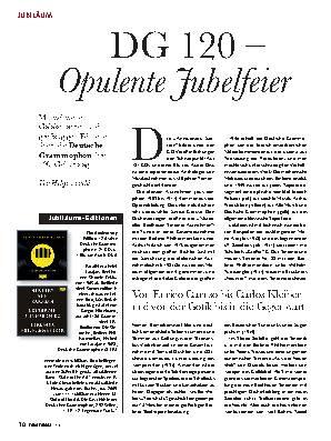 DG 120 – Opulente Jubelfeier