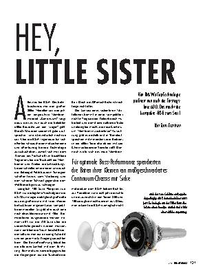 HEY, LITTLE SISTER