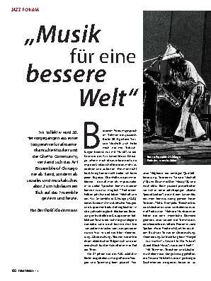 ,,Musik für eine bessere Welt