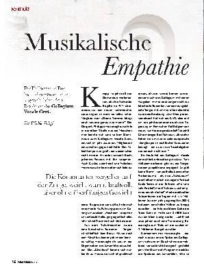 Musikalische Empathie