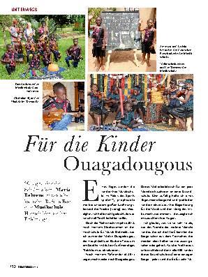 Für die Kinder Ouagadougous